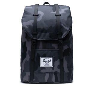 NEW Herschel Supply Co Retreat Backpack Midnight Camo