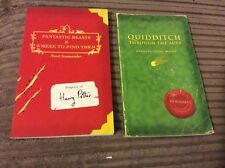 First Edition Harry Potter School Books by JK Rowling