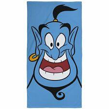 Disney Aladdin Genie Toalla Baño Playa 100% Algodón Niños