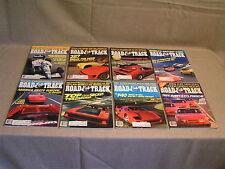 8 1987 Road & Tracke Magazines - Porsche Ferrari BMW Mercedes Lamborghini +