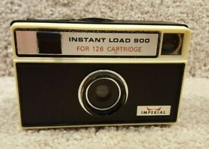 Untested 1970's Imperial Instant Load 900 Flash Cube Camera Parts Or Repair