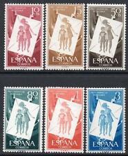 España estampillada sin montar o nunca montada 1956 SG1263/68 alivio húngaro Childrens