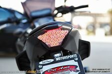 15-17 Yamaha FZ-07 FZ07 MT-07 YZF 18 R3 INTEGRATED Signal LED Tail Light CLEAR