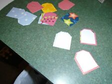 100 Stampin Up Tags Punchies Die Cut/Cuts