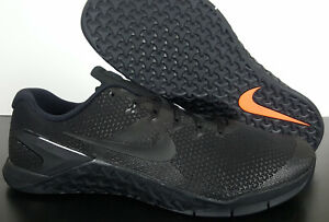 NIKE METCON 4 CROSS TRAINING WEIGHT LIFTING SHOES BLACK NEW AH7453-001 (SIZE 15)