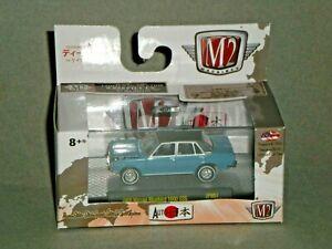 1/64th M2 Machines Japan 1 1969 Datsun Bluebird 1600SSS Blue