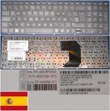 Qwerty Keyboard Spanish HP Pavillion G7-1000 AER18P00310 633736-071 646568-071