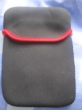 IPOD TABLET HOLDER 21CMS x 15CMS nero con Red RIM