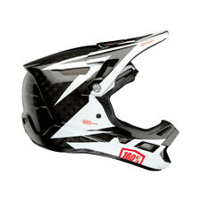 100% Aircraft Carbon Mips Helmet Rapidbomb/White LG