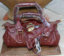 * BELOW COST PRICE *  Chocolate Brown Synthetic Bag   BRAND NEW