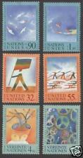 1998 Diritti dell'uomo - ONU 3 uffici - serie 2 valori