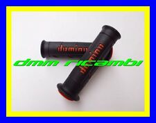 Manopole Stradali Domino XM2 Tommaselli Moto Scooter Minimoto Gp nero arancio