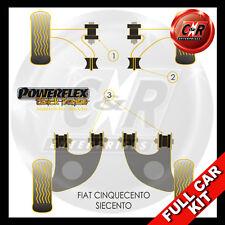 Fiat Seicento Powerflex Negro Completo Juego Cojinete