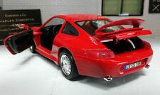 Voitures, camions et fourgons miniatures Rouge Bburago pour Porsche