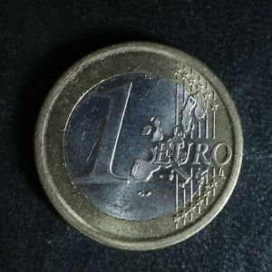 1 euro 2000 Spain KM#1046 España Espagne E € Bi-Metallic