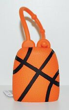BATH & BODY WORKS ORANGE BASKETBALL POCKETBAC HOLDER SLEEVE HAND SANITIZER CASE