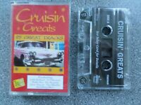 CRUISIN GREATS 2 - VARIOUS ARTISTS -  ALBUM - CASSETTE TAPE