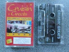 CRUISIN GREATS 2 - VARIOUS ARTISTS -  ALBUM - CASSETTE TAPE