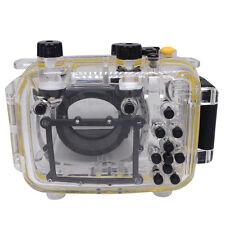Mcoplus 40m/130ft Impermeabile Subacqueo Diving Alloggiamento Custodia della fotocamera per Canon G11
