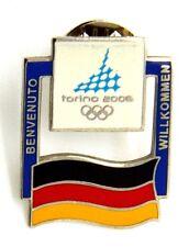 Pin Spilla Olimpiadi Torino 2006 Bandiere - Flag Germany