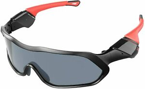 Cycling Glasses Light Weight Anti UV Running Glasses with Bluetooth