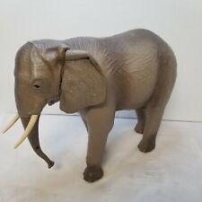 Marx Toy Safari Adventure Elephant Figure on Wheels- Vintage