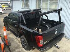 Tradesman rack / Ladder rack set - For Nissan NP300 Navara - BLACK POWDERCOAT
