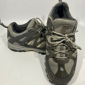 The North Face Grey Mens  Size 10.5 Hiking Shoes Waterproof/ Hydroseal