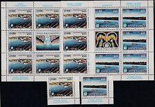 FRANCOBOLLI 1993 JUGOSLAVIA IL DANUBIO 2 SINGOLI + 2 MF MNH Z/6950