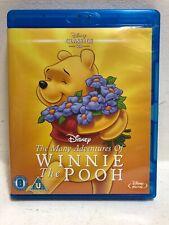 Many Adventures of Winnie the Pooh [Blu-ray] [Region Free] + Free Shipping