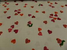 """Tela patchwork """"Pequeño Oruga Muy Hambrienta"""" 50 x 110 cm 100% BW"""