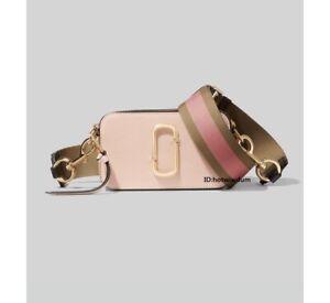 NWT  MARC JACOBS Snapshot Small Camera Bag  NEW rose multi bag sales