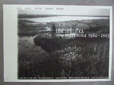 JAN JEDLICKA - Ausstellungsplakat - 2004 - Bottrop Quadrat, Josef Albers Museum