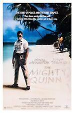 THE MIGHTY QUINN (1989) ORIGINAL MOVIE POSTER  -  ROLLED
