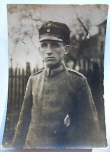 Foto Freikorps Flugzeugführer O. Christ Flieger Ersatz Abt. 3 Gotha Jan. 1919 !!