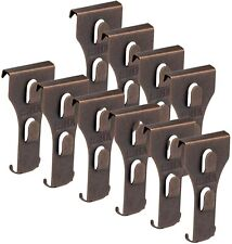 "SXUEG Brick Hook Clips for Bronze(10pcs) Fits Bricks 2-1/4"" to 2-3/8"" High"