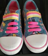 Clarks Girls Rainbow Trainers Infant Size 9F
