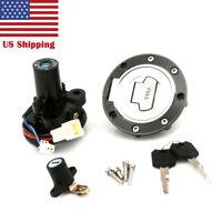 Ignition Switch Lock Fuel Gas Cap Key Set For Yamaha YZF R6 2003-2005 2004 USA