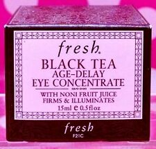 FRESH BLACK TEA AGE DELAY EYE CONCENTRATE 0.5 OZ NEW IN BOX!