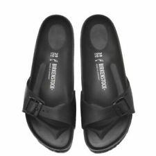 Madrid EVA BIRKENSTOCK Womens Narrow Slippers Black 128163 Sandals