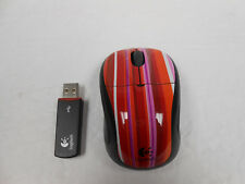 Logitech Wireless Laser Mouse V220 # 910-001467 (Stripe)