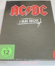 AC/DC Fan Box - 2 DVDs/NEU/Musikfilm/Thunderstruck/Schuber