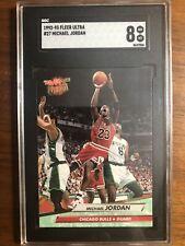 1992-93 Fleer Ultra Michael Jordan #27 SGC 8 NM-MINT HOF GOAT Chicago Bulls