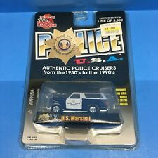 Racing Champions Police USA 1980 Ford Bronco US Marshal - B1