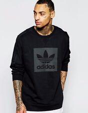ADIDAS Originals Oversized Sweatshirt Jumper Large Logo - Size S M - OZ STOCK!