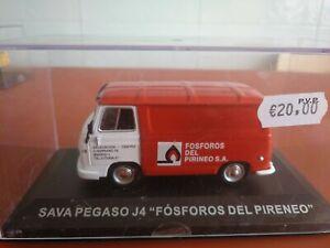 FURGONETA 1/43, ALTAYA, MODELO SAVA PEGASO J4 FOSFOROS DEL PIRINEO.
