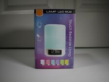 Touch Sensor Bedside Lamp Smart LED Table Lamp RGB Atmosphere Light Dimmable