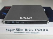USB 3.0 Ultra Slim External Panasonic UJ162 UJ152 6X Blu-Ray Combo BD-ROM New