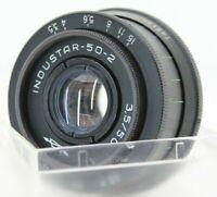 Industar-50-2 Pancake manual Lens 3.5/50 Portrait M42 screw mount