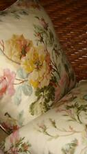 Ralph Lauren 2 Wentworth Floral 16x16 Sq Decorative Pillows With Feather Inserts